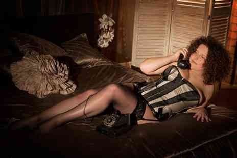 Jaine Briscoe Price - Boudoir or Makeover Photoshoot With Print - Save 50%