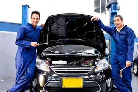 F Dunn & Sons Garage - Air Conditioning Service With Re Gas and Anti Bacterial Spray - Save 56%