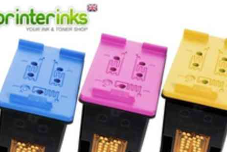 PrinterInks - £10 for £20 worth of ink cartridges from Printer Inks beat down the cost of printing - Save 50%