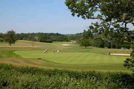 Hamptworth Golf & Country Club - 18 Holes Golf  Plus Meal - Save 54%