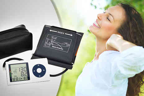To Your Home - Portable Digital Blood Pressure Monitor - Save 50%