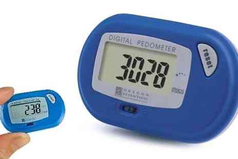 Active Human - Oregon Scientific Pedometer - Save 51%