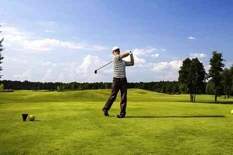 Manston Golf Centre - Day of Golf With Lunch and Coffee For Two - Save 57%