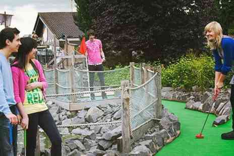 M & Ds Theme Park  - Bowling and Crazy Golf For Four - Save 54%