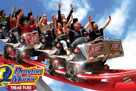 UK Minibreak - One Night Stay at Blue Inn Redditch with 3 Drayton Manor Tickets - Save 47%