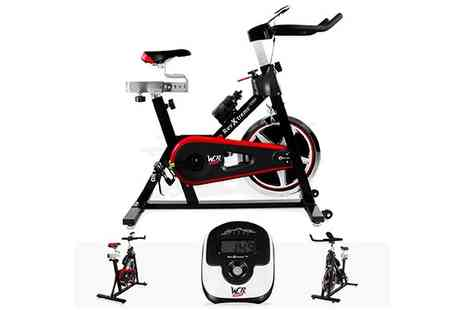 W R SPORTS - Aerobic Indoor Cycle - Save 50%