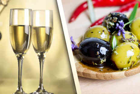 The Bridge Wine Bar - Bottle of Prosecco and gourmet nibbles for Two - Save 71%