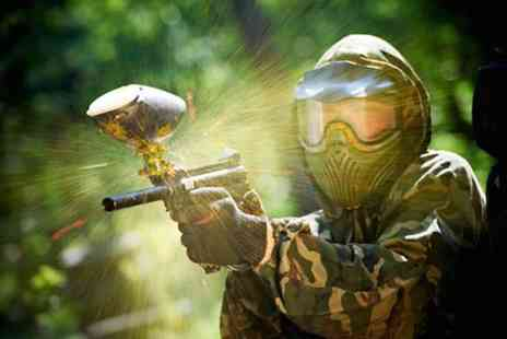 Point Blank Paintball - VIP paintball package for 6 with a 100 paintballs  - Save 94%