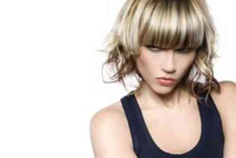 Parlour Hair - Half head of highlights or dip dye with a cut, blow dry & treatment - Save 71%