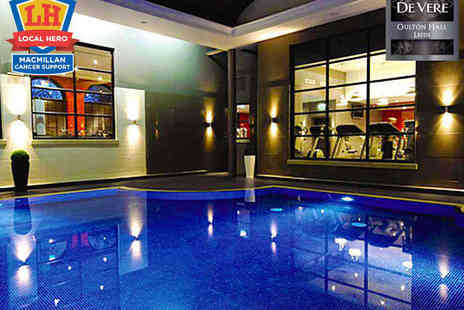 Oulton Hall - Luxurious Spa Day with Welcome Drink on Arrival - Save 55%