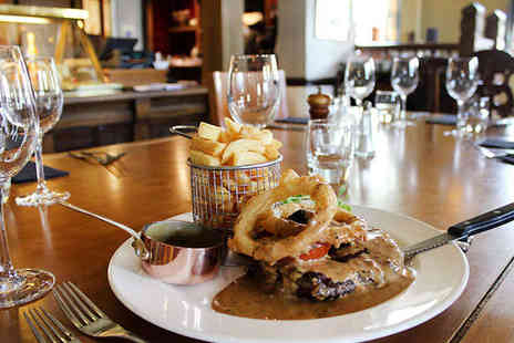 The Duke of Portland - Starter, Steak Main, and Glass of Prosecco Each for Two - Save 57%
