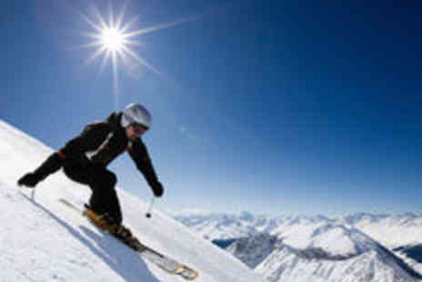 Snozone - Full Day Slope Pass or Adult Beginners Ski or Snowboard Course - Save 65%