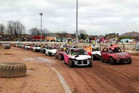 Startrax - Entry to Startrax Stockcar Racing For Two Adults - Save 0%