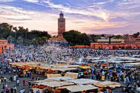 Kasbah Igoudar - Three nights in Marrakech in a boutique hotel Plus spa, with half board and flights - Save 37%