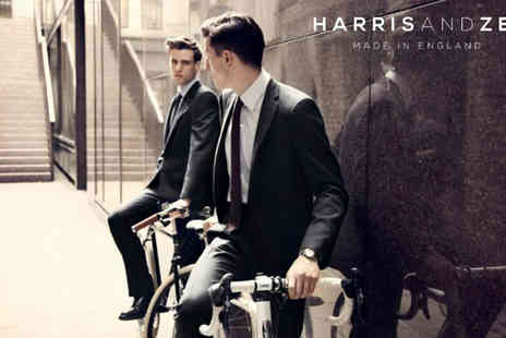 Harris and zei - Two Piece Bespoke Mens Suit  - Save 60%