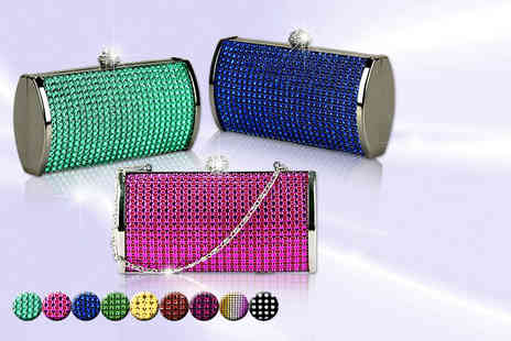 Akzezorys - 3 in 1 diamante clutch - Save 75%