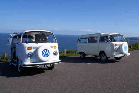 VDubAndAway - Three night weekend VW Campervan hire for up to 4  - Save 57%