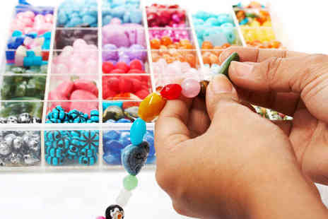 Bead & Button Bazaar - Two Hour Beginners Jewellery Making Class for One - Save 68%