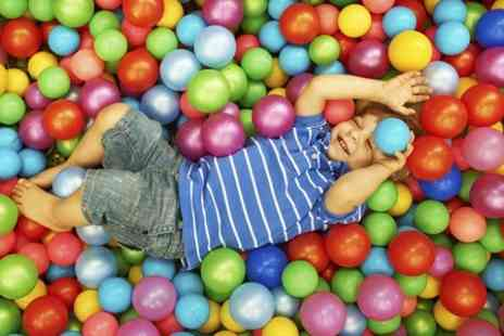 The Play Shack - Soft Play For Three Children - Save 83%