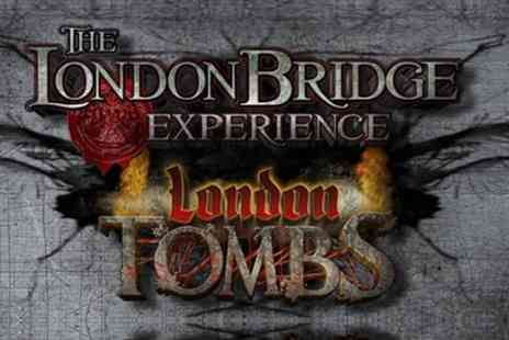 The London Bridge Experience  - Entry to London Bridge Experience and London Tombs  - Save 50%