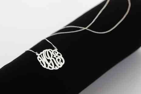 MonogramOnline - Custom monogram necklace  - Save 60%