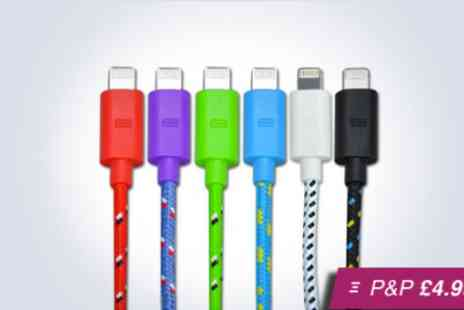 ASPA Supplies - Extra long iPhone 5 compatible cable - Save 92%