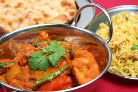 Dine India -  Two Course Meal  - Save 52%