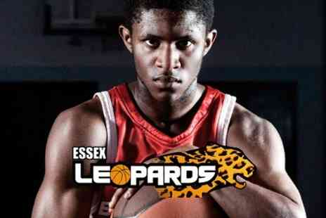 Essex Leopards Basketball - Tickets to Essex Leopards Basketball  - Save 38%