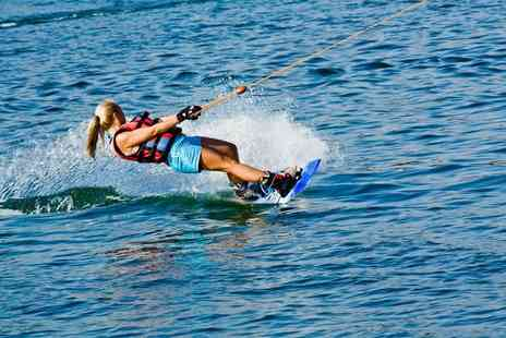 Club Wake Park - One hour beginner wakeboarding class for two - Save 53%