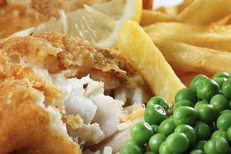 The Lanyard - Fish and Chips With Beer or Wine For Two  - Save 50%
