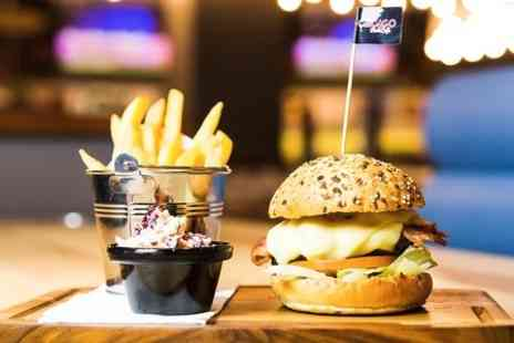 Chicago Rock Cafe Yeovil - Burger Meal For Two - Save 50%