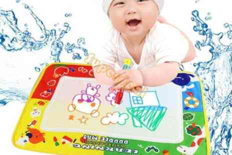 Londeal UK - Childrens Large 45x30cm Aqua Doodle Water Drawing Play Mat & Magic Pen - Save 54%