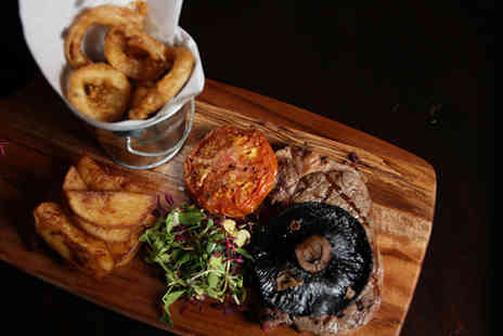 Sackville Lounge - Steak meal for 2 including a Prosecco cocktail  - Save 42%