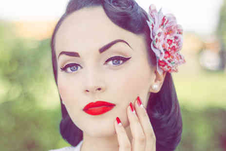 The Little Vintage Beauty Parlour - Vintage makeover and cream tea for 2  - Save 72%