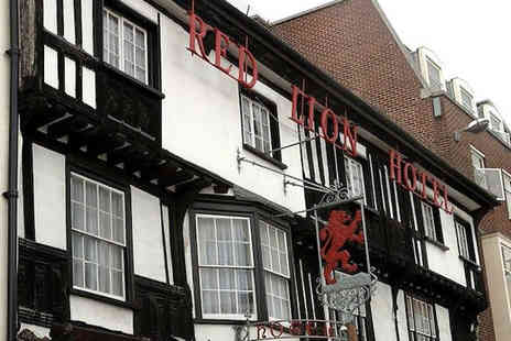 Brook Red Lion - One night stay B&B with afternoon tea - Save 39%