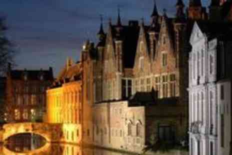 AA Getaways - Three night Bruges break and Eurostar return with accommodation - Save 44%