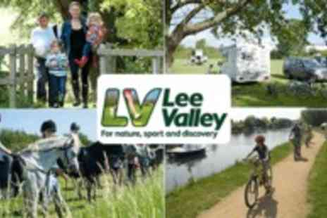 Lee Valley Park Farms - Camping in the Lee Valley Cooker and Beds Set up for you Valid until 31st October - Save 50%