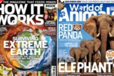 Imagine Publishing - Exciting new World of Animals and well respected How it Works magazine subscriptions  - Save 50%
