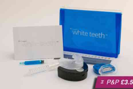 I Want White Teeth - Peroxide free teeth whitening kit - Save 84%