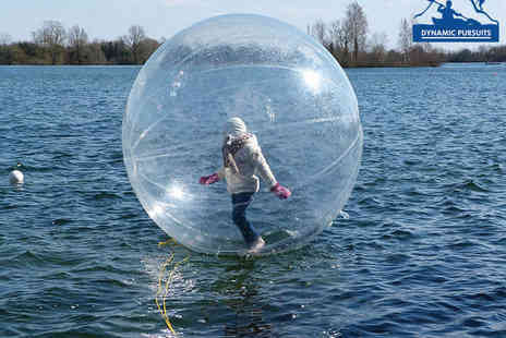 Dynamic Pursuits - Water Zorbing Experience for Two - Save 40%