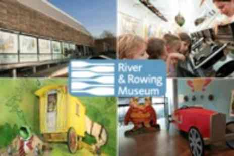 Kallaway - Two tickets to River & Rowing Museum in Henley on Thames - Save 54%