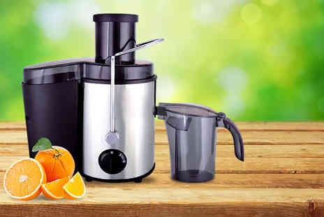 Product Mania - 500w Vortex Power Juicer - Save 63%
