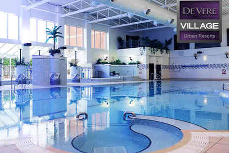 De Vere Village Urban Resort Hotel - Spa Day with ESPA Massage Facial, and Full Use of Facilities for One  - Save 54%