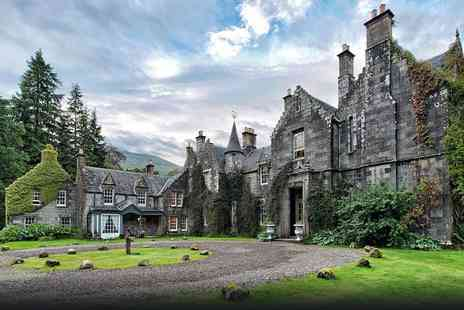 Ardanaiseig Hotel - One  night on Loch Awe with breakfast  - Save 67%