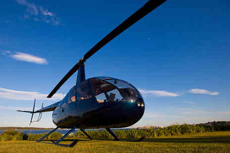 Northumbria Helicopters - Seven mile helicopter buzz flight - Save 34%
