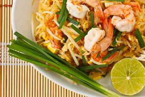 Thai kitchen - Three course Thai meal for two  - Save 50%
