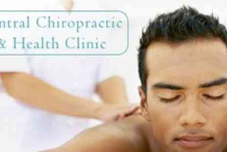 Central Chiropractic - 60 Minute Therapeutic, Relaxation, or Sports Massage - Save 63%