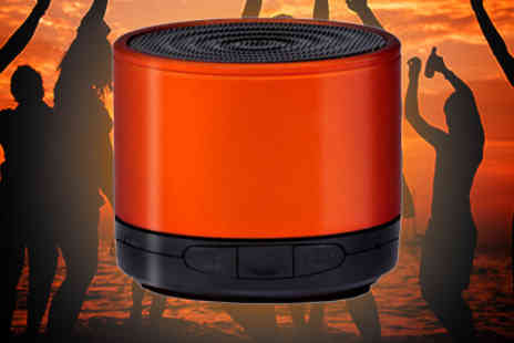 Loco Gadgets - Orange Bluetooth Speaker - Save 78%