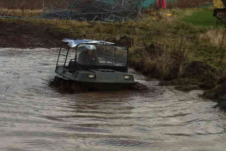 Tank Driving Scotland - One hour amphibious buggy experience for one - Save 67%
