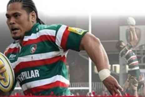 Leicester Tigers - Two Adult Tickets to Leicester Tigers v Newcastle Falcons Cup Match on 4 February 2012 - Save 67%